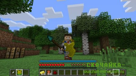Мод Mine and Blade Battlegear 2 для Minecraft 1.8/1.7.10/1.7.2/1.6.4/1.5.2