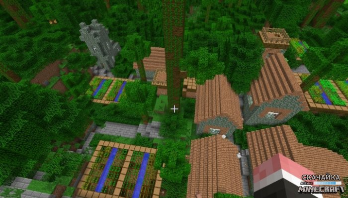 Мод Mo' Villages by The_WeatherPony для Minecraft 1.9.4/1.9/1.8.9/1.7.10