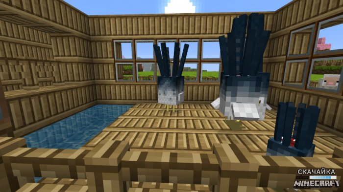 Мод Baby Animals Model Swapper, Squickens для Minecraft 1.11.0/1.10.2